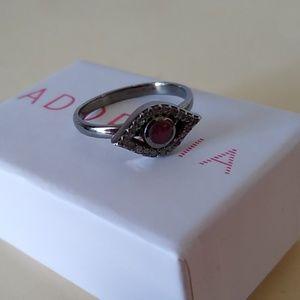 EUC Adornia Evil Eye Ring size 8